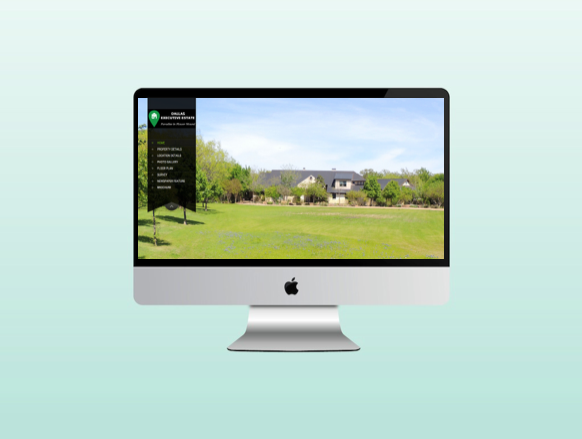 Website for Dallas Executive Estate in Flower Mound Texas
