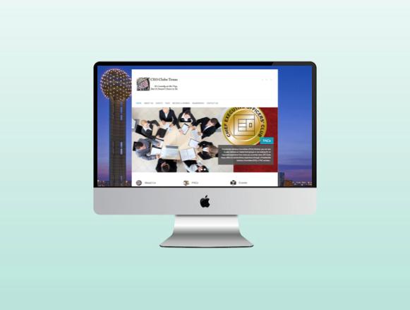 Website for CEO Clubs Texas in Dallas Texas