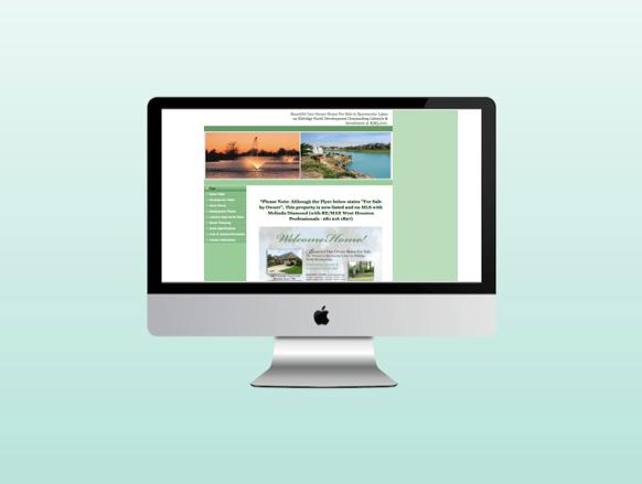 Website for Realtor's Featured Properties in DFW
